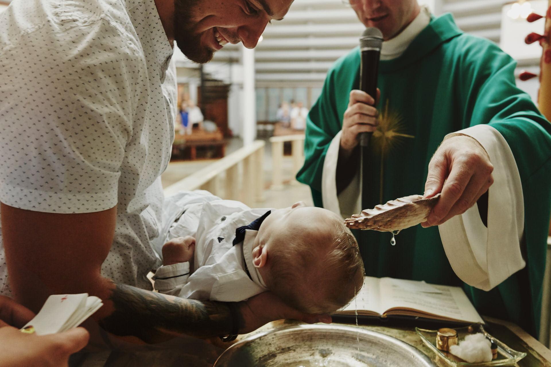 fotografia chrzest święty