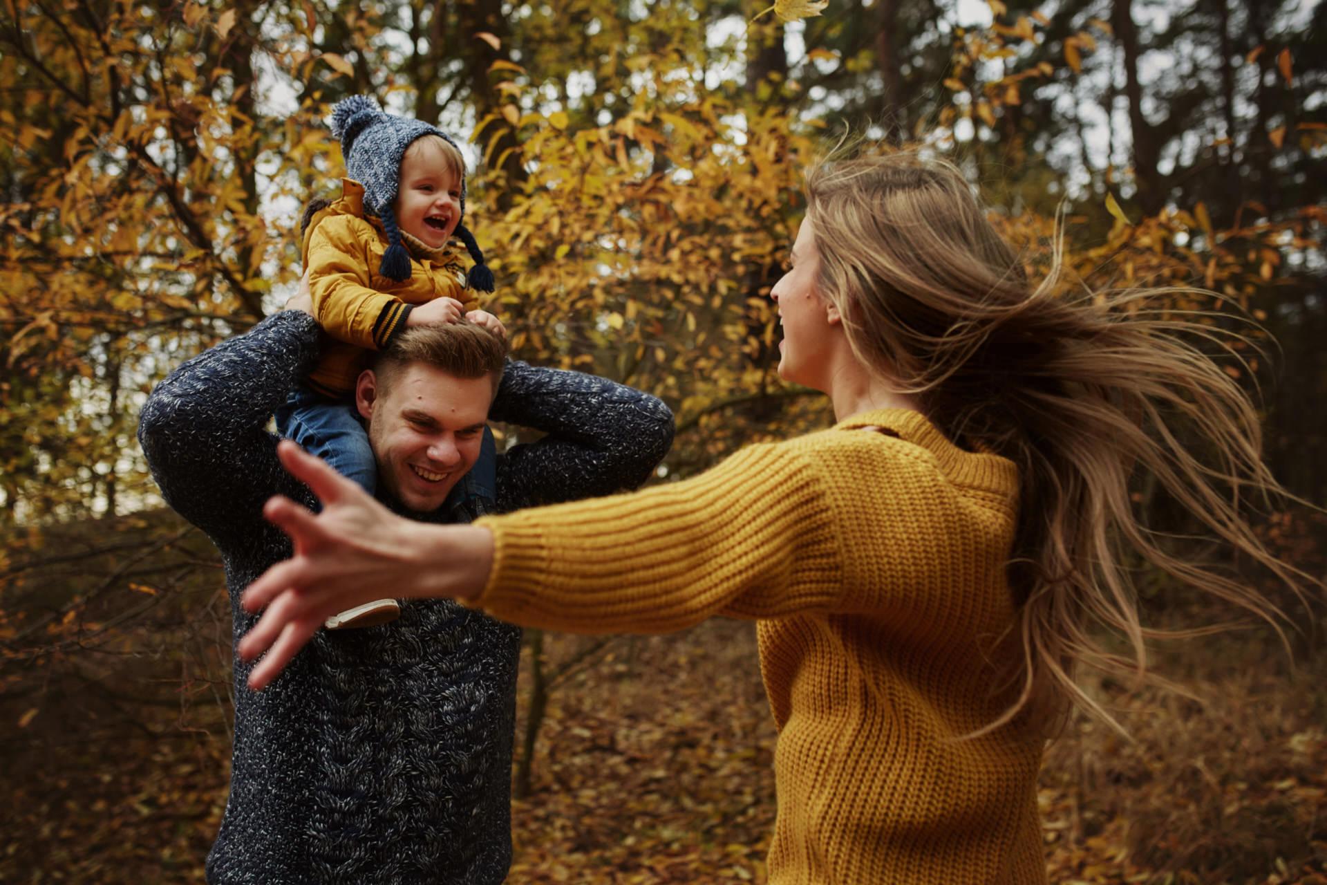 jesienna sesja rodzinna Świnoujście