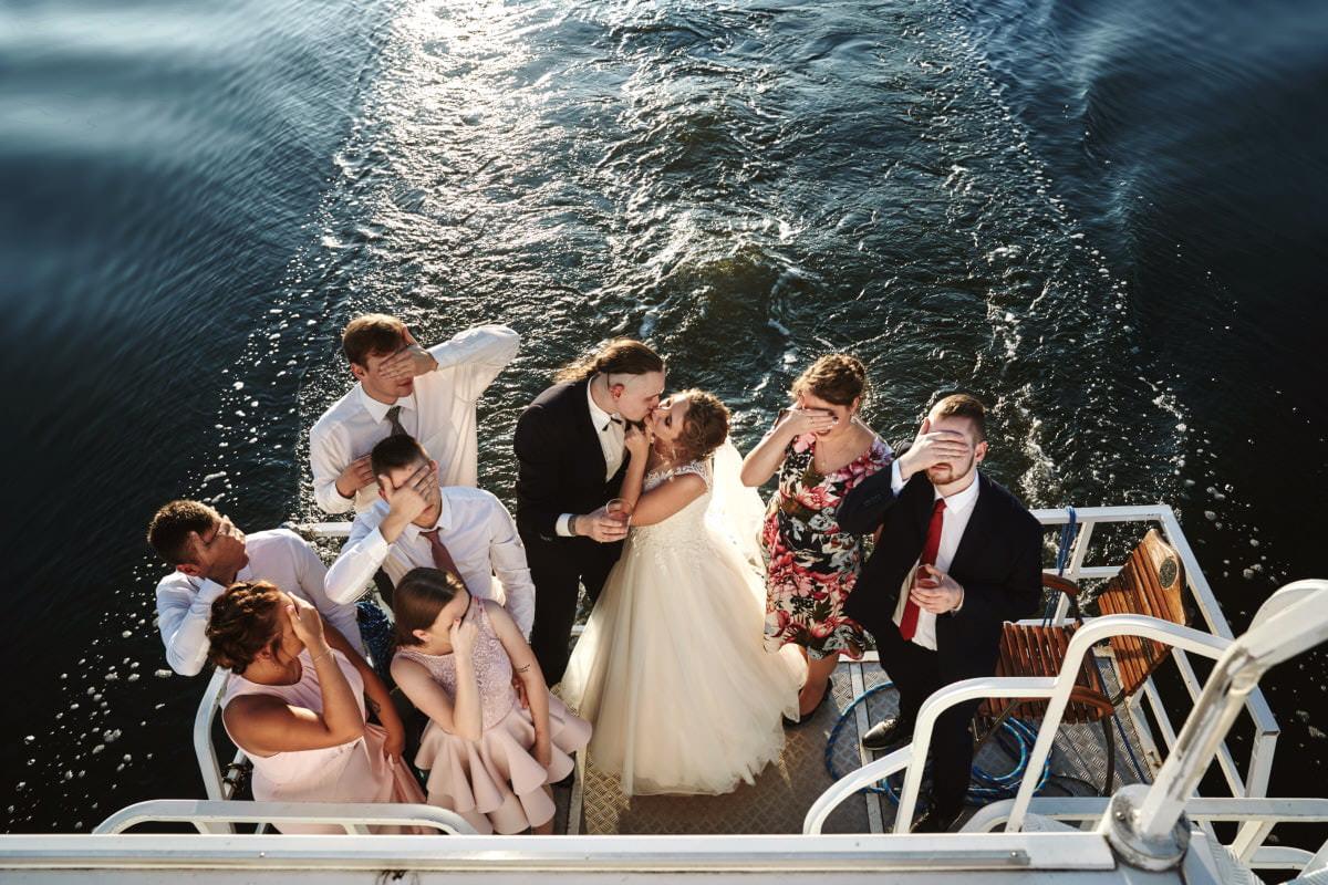 wesele na morzu - zdjęćia Świnoujście