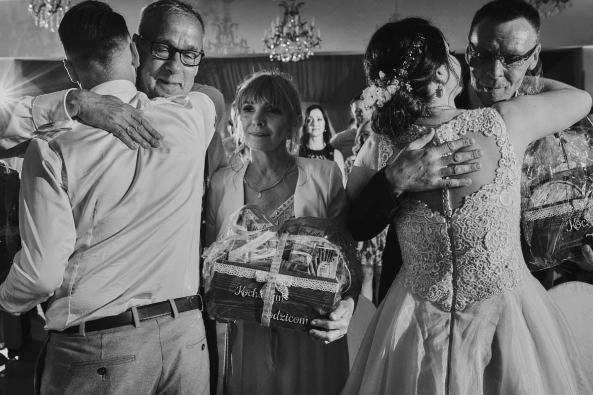 podziękowania dla rodziców - fotograf ślubny Szczecin