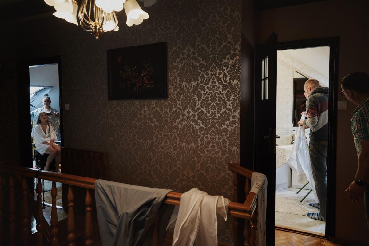 przygotowania ślubne - fotografia Szczecin