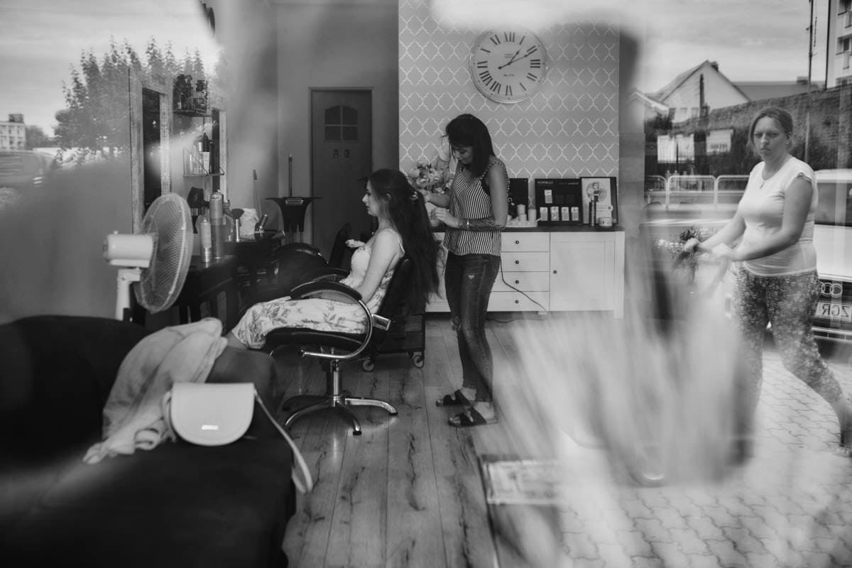 przygotowania ślubne - fryzura ślubna