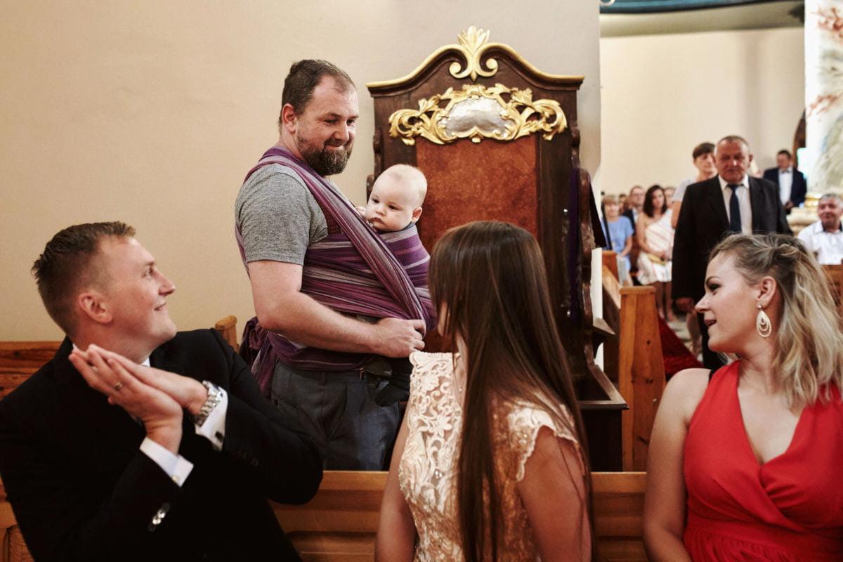 dzieci na ślubie -fotograf Przemek Białek