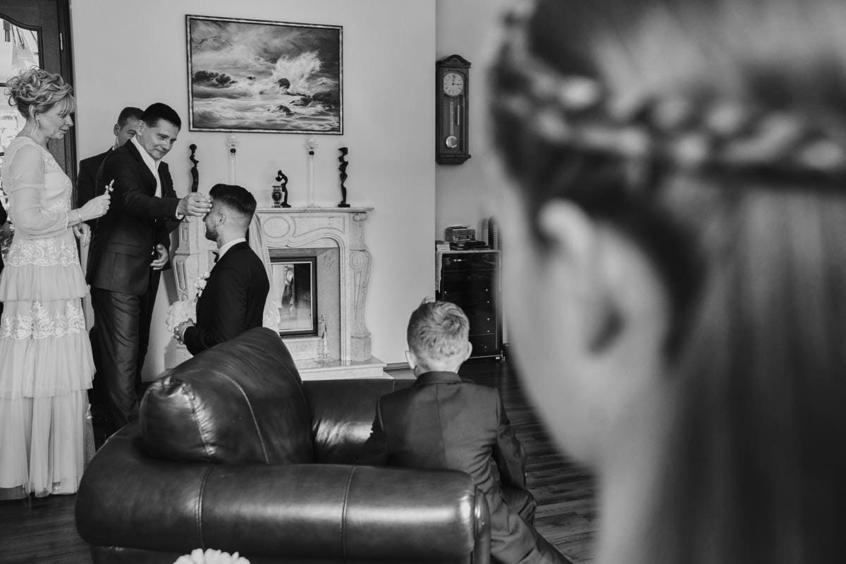błogosławieństwo rodziców - ślub Szczecin