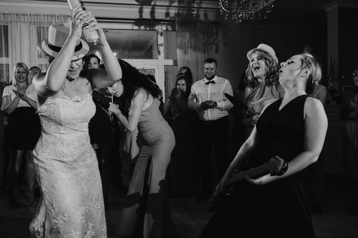 emocje na weselu - Bukowy Park