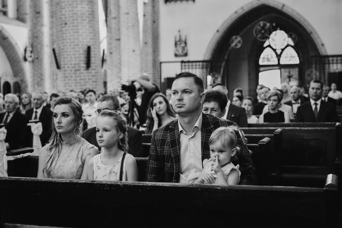 ceremonia ślubna Szczecin - dzieci na ślubie