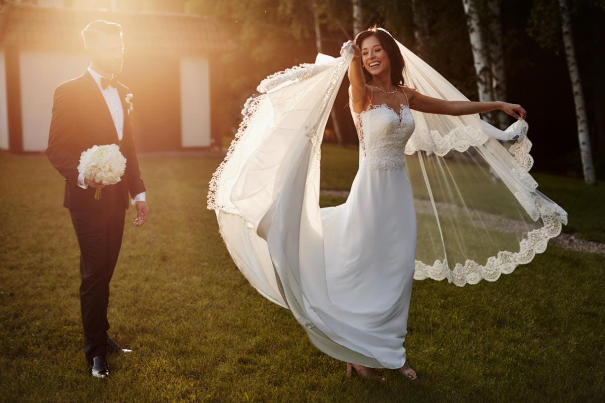 sesja w dniu ślubu - Bukowy Park Szczecin