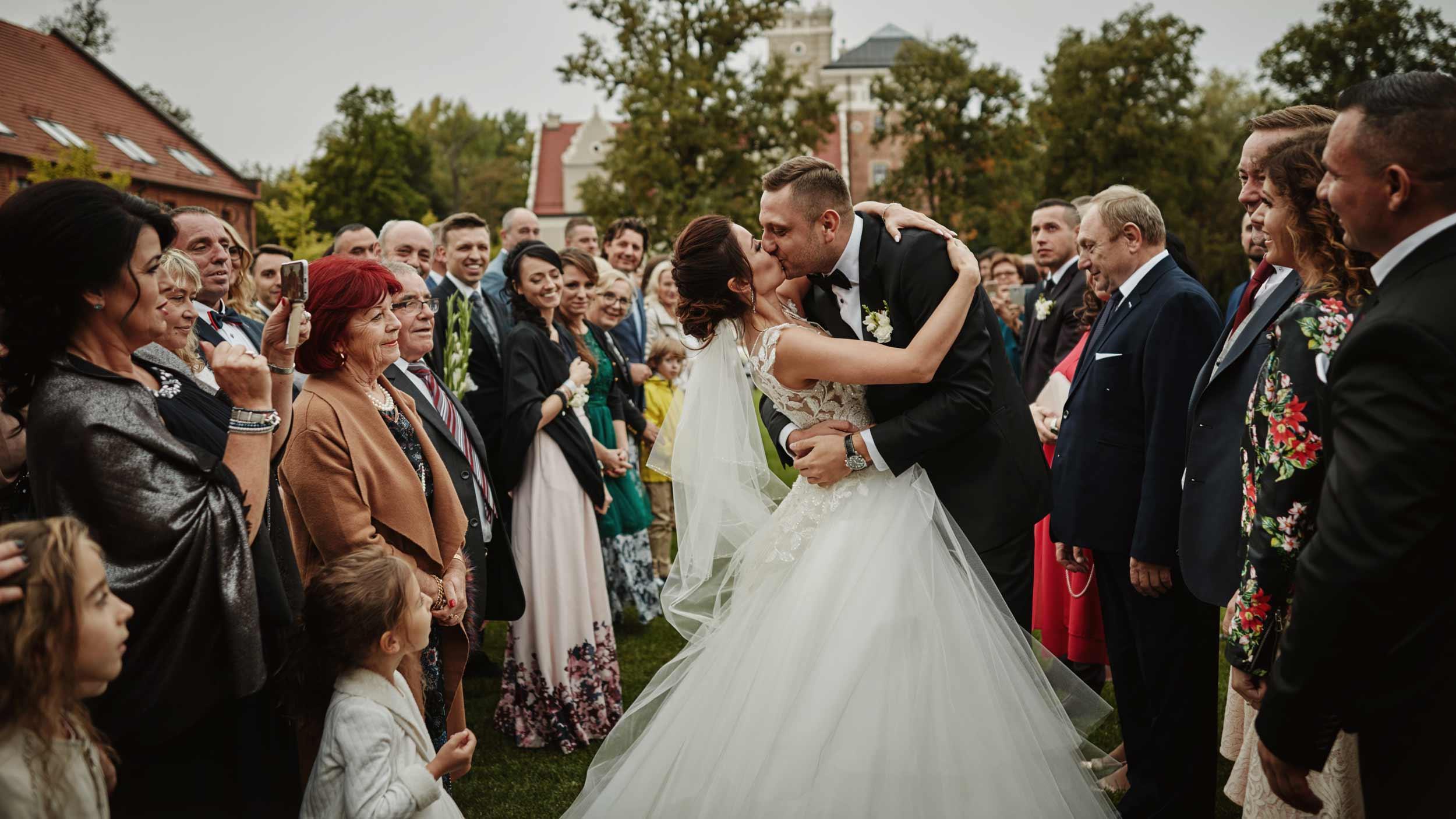 Zamek Topacz wesele glamour