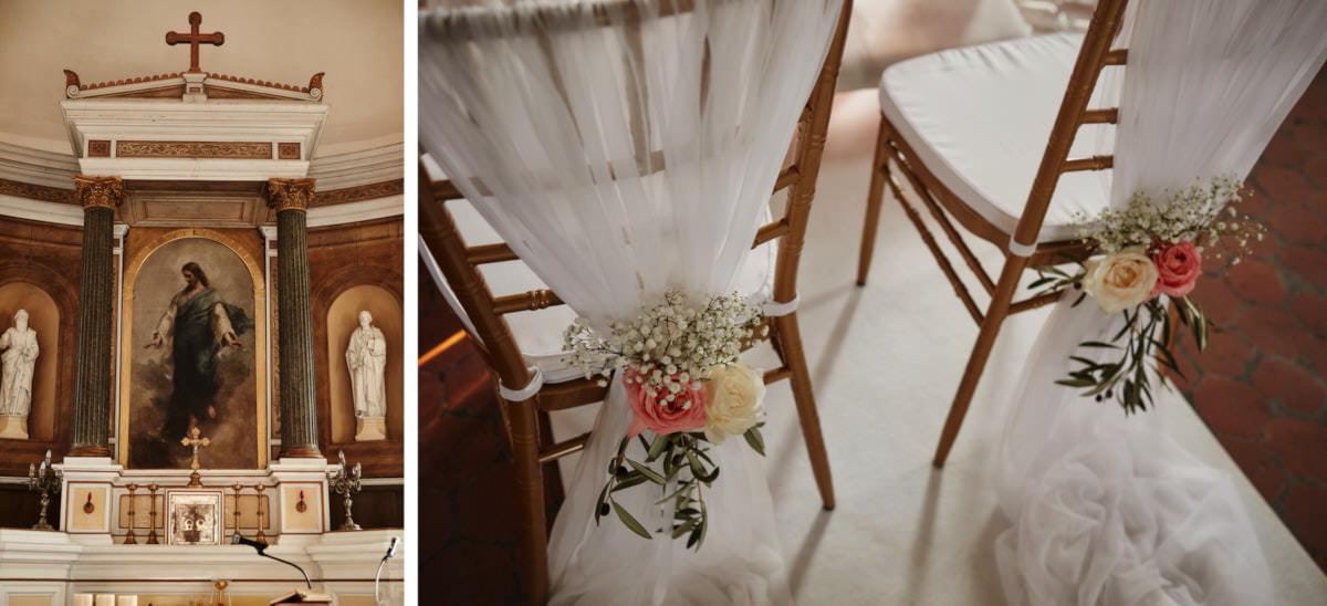 krzesła dekoracje