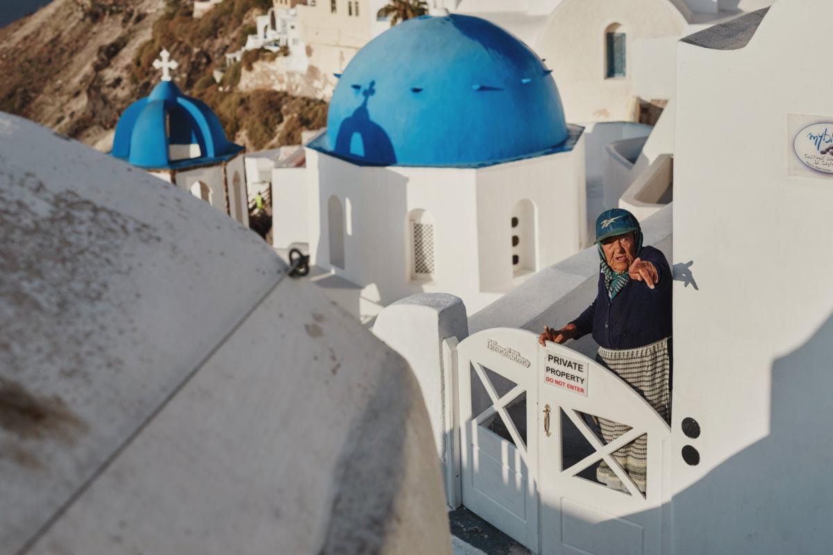 mieszkanka Santorini