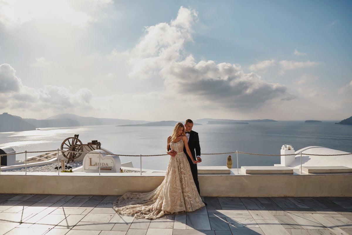 Grecja - Santorini - fotografia ślubna