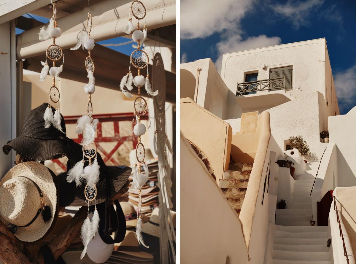architektura Santorini