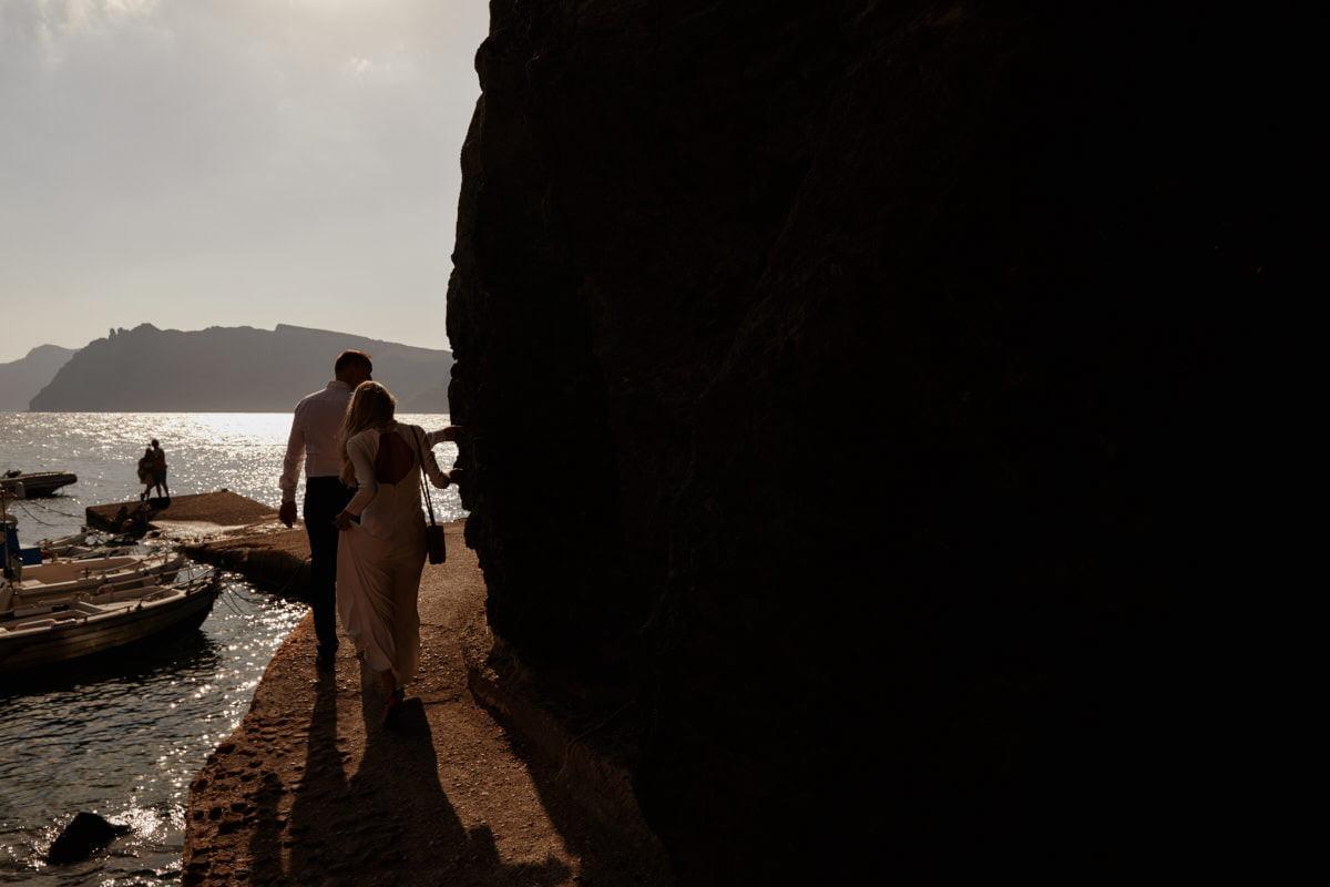 spacer po Santorini