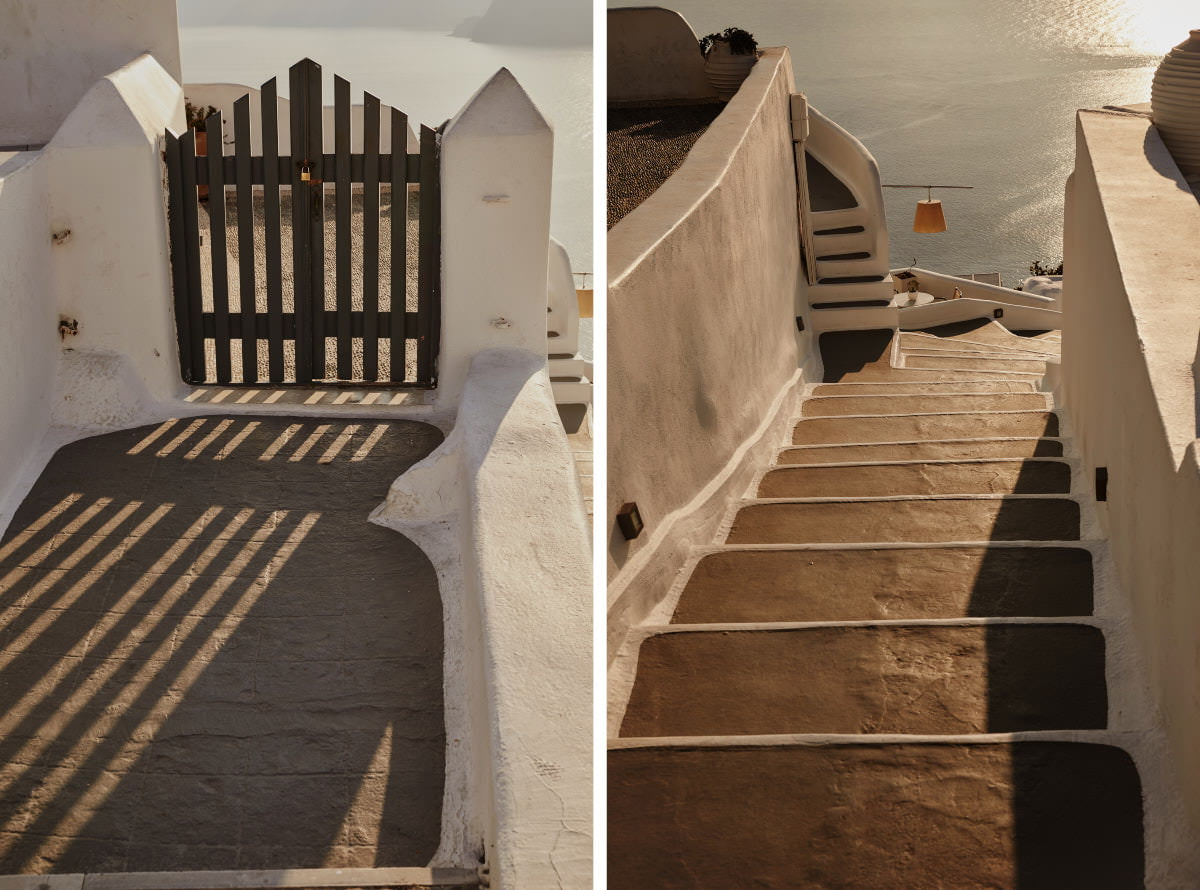 Santorini architektura