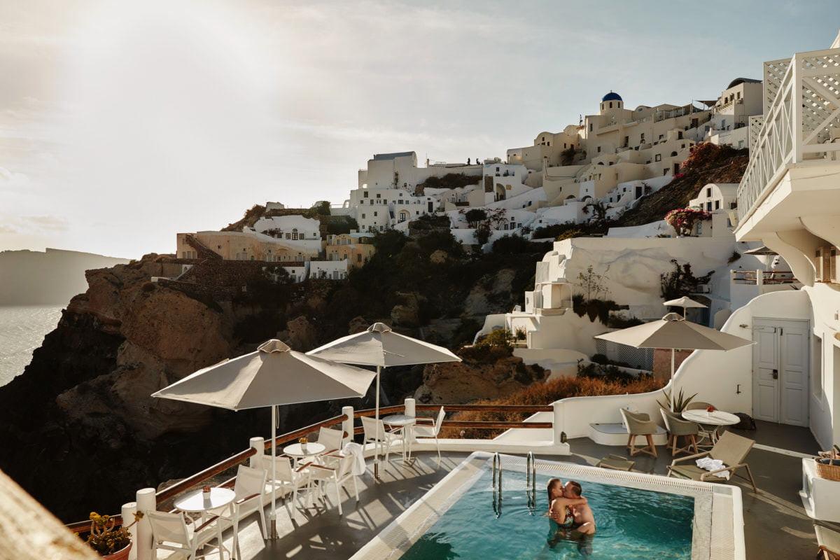 Grecja - Santorini - basne na Oia