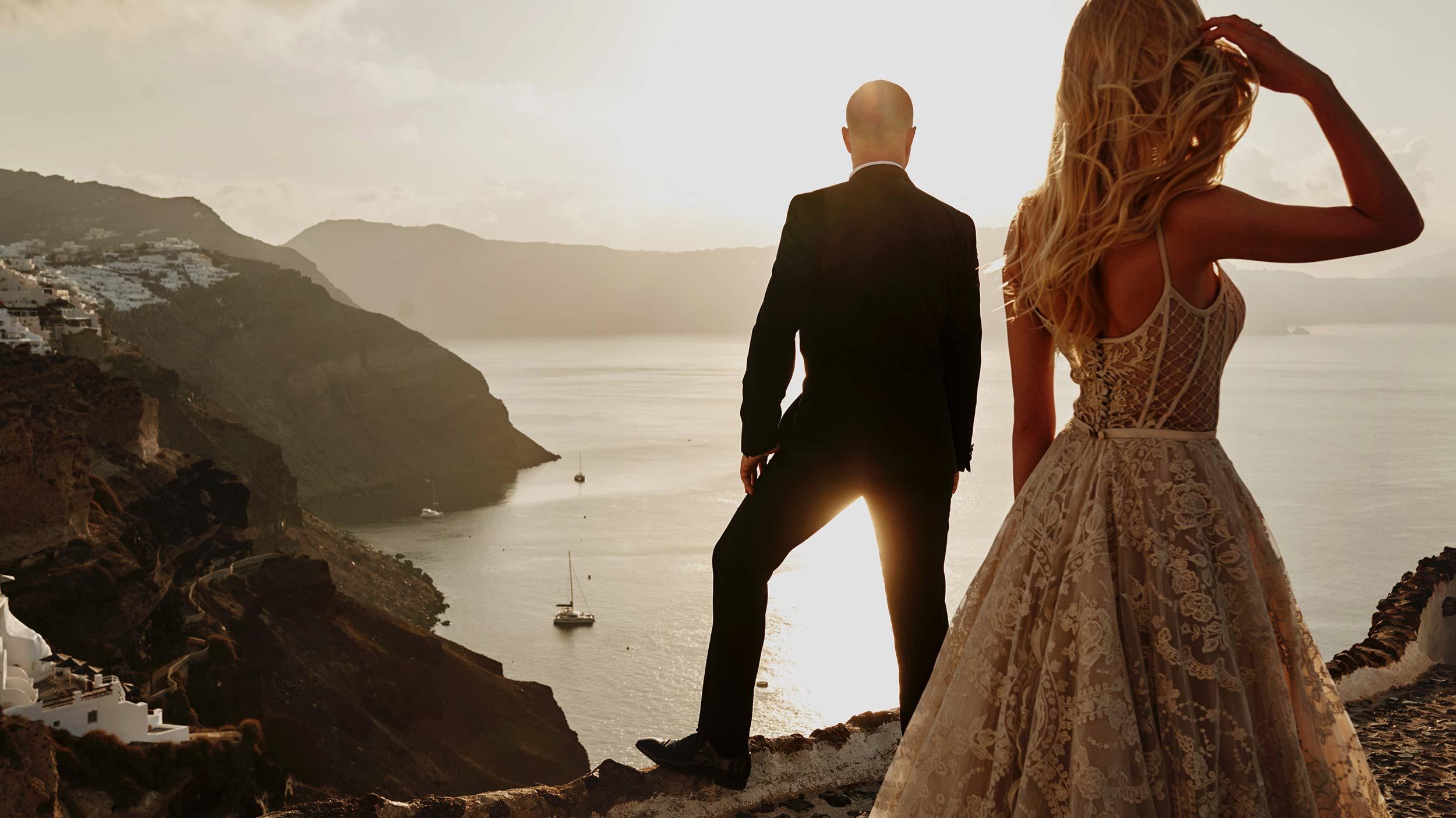 Zagraniczna sesja ślubna na Santorini - Przemysław Białek fotografia 2