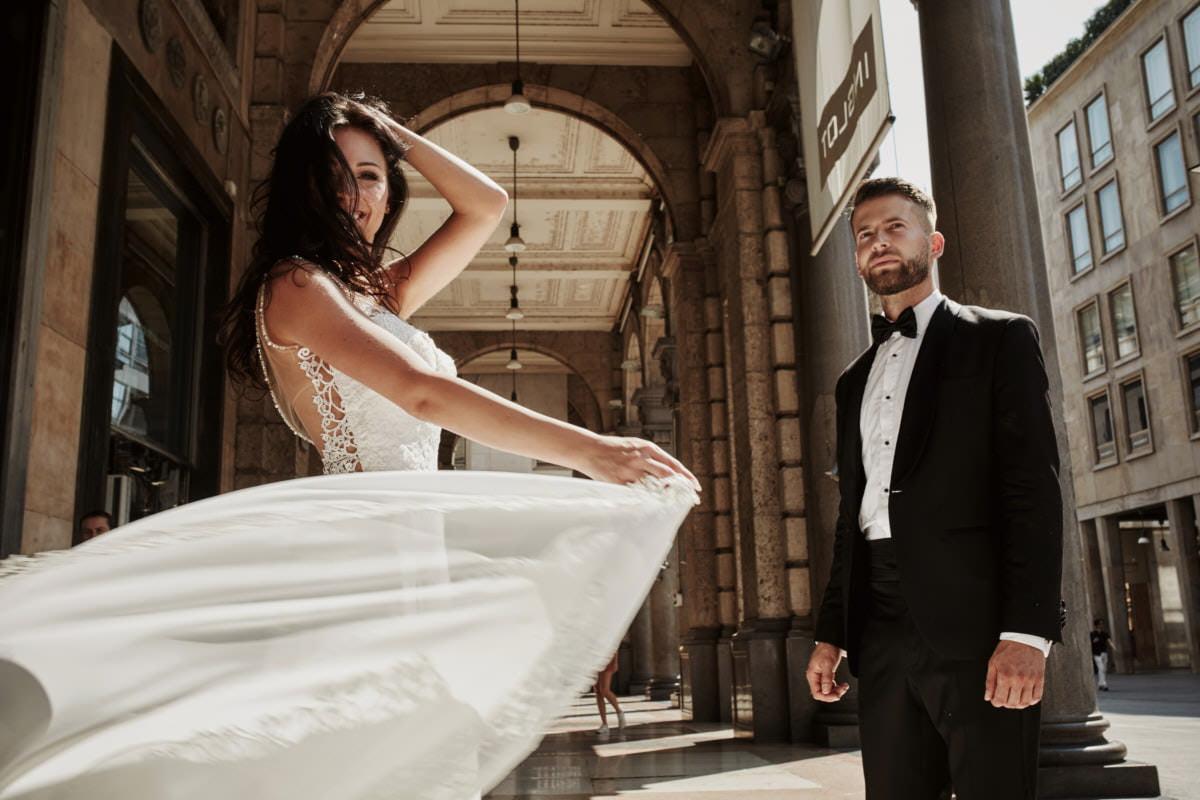 Mediolan - fotografia ślubna