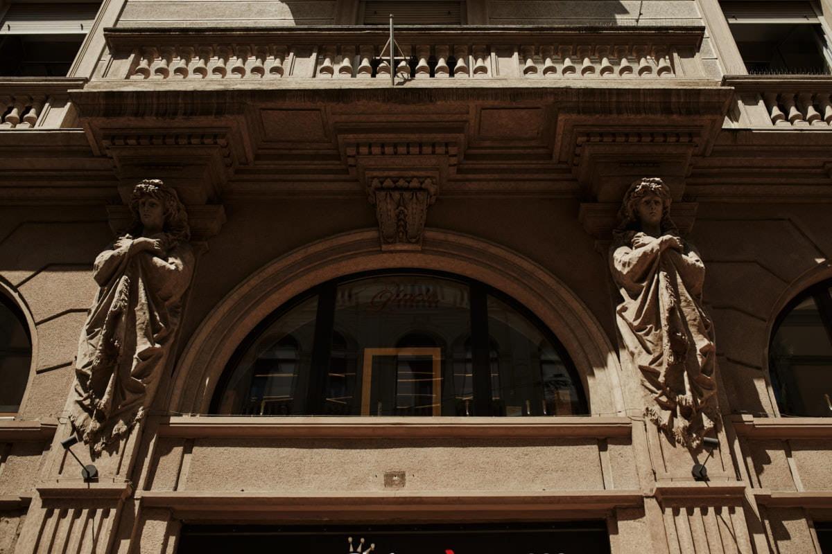 Mediolan - detal architektoniczny