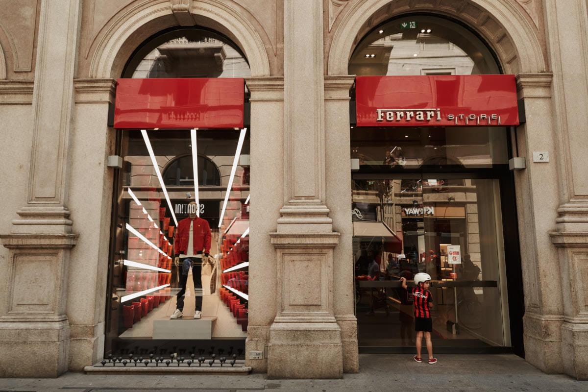 Mediolan - ferrari butik