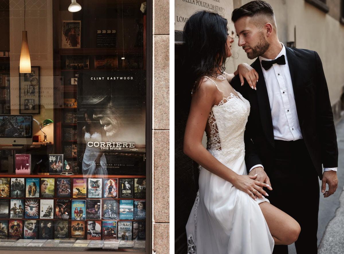Mediolan - para ślubna