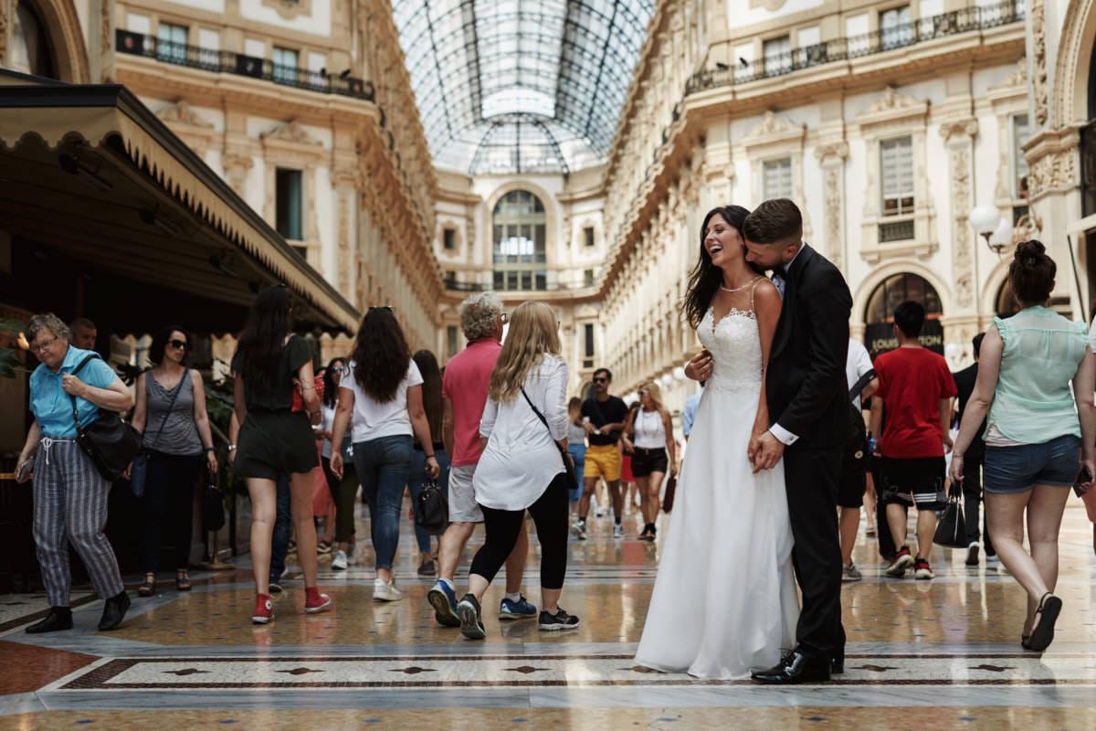 Plener ślubny w Mediolanie
