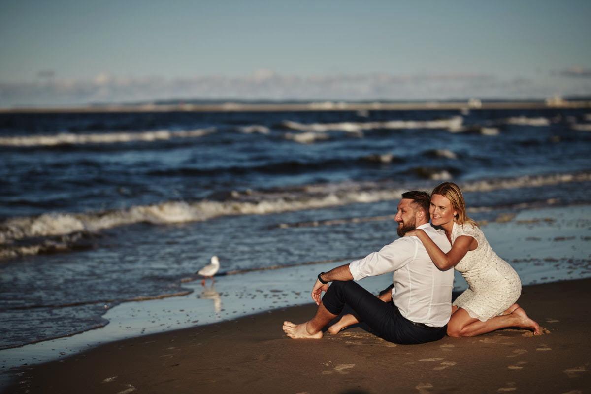 Monika i Bartek - ślub i sesja nad morzem 4