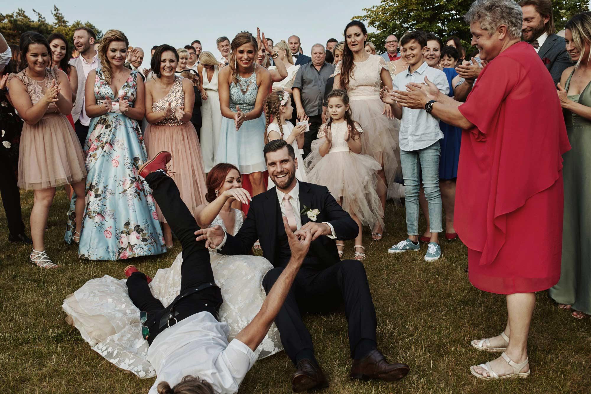 Biała Wstążka wesele - Czepino - Reportaż ze ślubu i przyjęcia weselnego 1